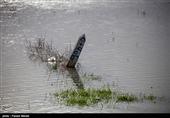 رودخانه زیارت در استان گلستان طغیان کرد