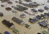 روایت شاهد عینی از مواجهه با سیل و زلزله در ژاپن + عکس