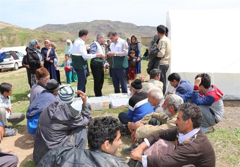 اعزام 28 تیم پزشکی به مناطق سیلزده لرستان؛ 3250 نفر از خدمات درمانی بهرهمند شدند