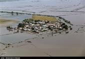انجام 43 ساعت عملیات امداد هوایی توسط هلال احمر در مناطق سیلزده لرستان