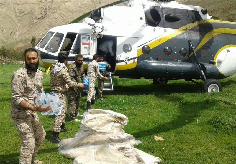 اقدامات قرارگاه شهید طهرانی مقدم نیروی هوافضای سپاه در خوزستان + فیلم