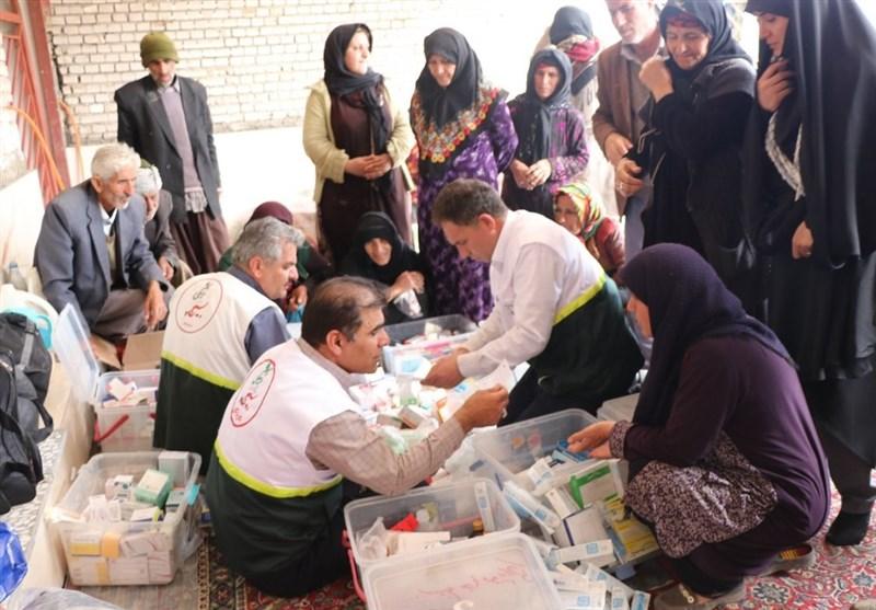 تیم پزشکی و بهداشتی به منطقه عشایری«قلعه میشوند» پلدختر اعزام شد