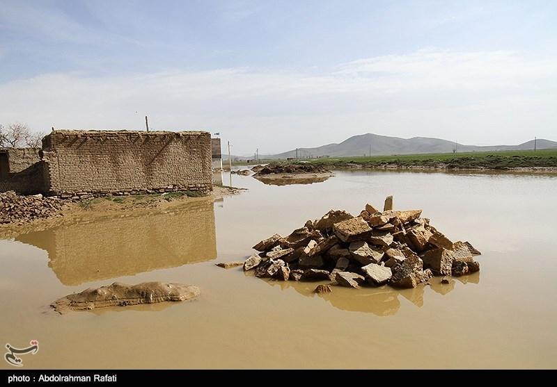 برآورد خسارت اولیه سیل در کرمانشاه بیش از ۳۴۵ میلیارد تومان است