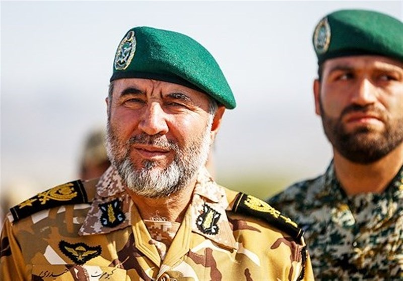 Iranian Commander Highlights Army's Combat Power