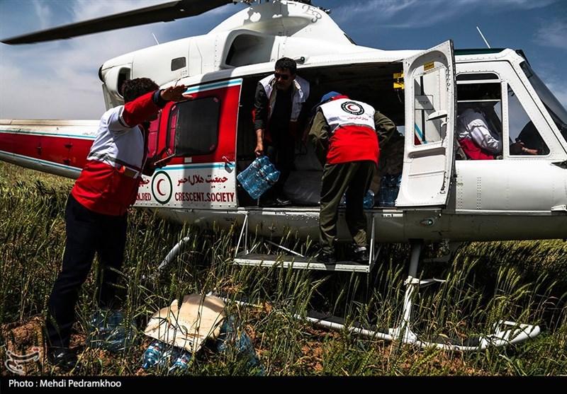 6200 نفر توسط بالگرد و قایق امدادی تاکنون در سیل خوزستان منتقل شدند