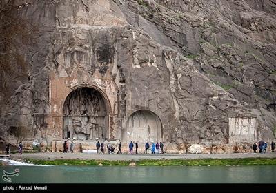 کرمانشاہ میں نوروز کے مسافروں کی آمد