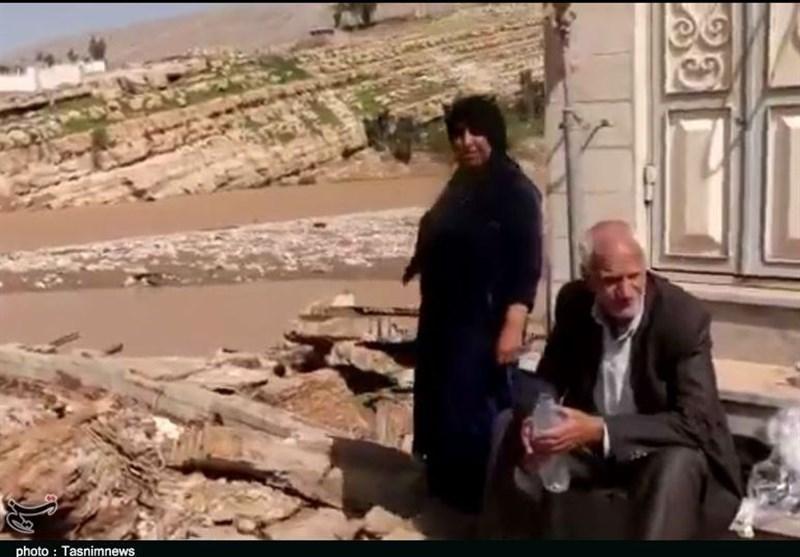 روایتی متفاوت از مردم سیل زده پلدختر؛ شکرگزاری بعد از سیل ویرانگر+ فیلم