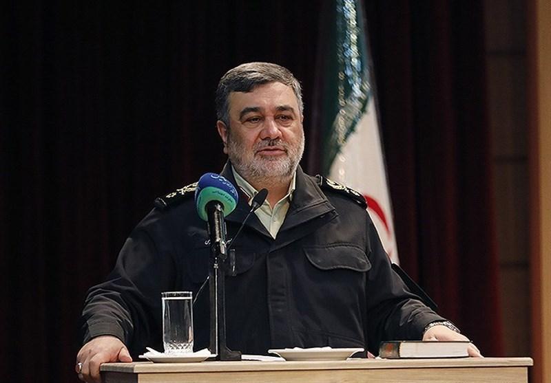 فرمانده ناجا: برای تحقق شعار سال به بنرزنیاکتفا نکنیم