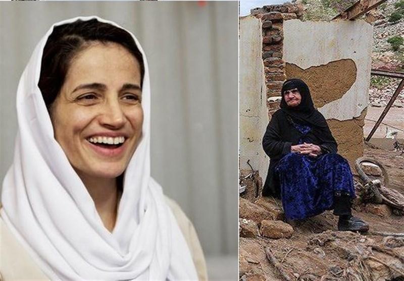 سیلزدگان محروم از امداد جهانی و جایزه اروپاییها به مجرم ایرانی
