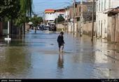 گلستان| 150 خانوار گمیشانی همچنان در محاصره آب هستند