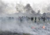 درگیری پلیس یونان با مهاجران