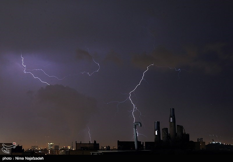 پیشبینی تداوم رگبار باران در 16 استان طی امروز و فردا