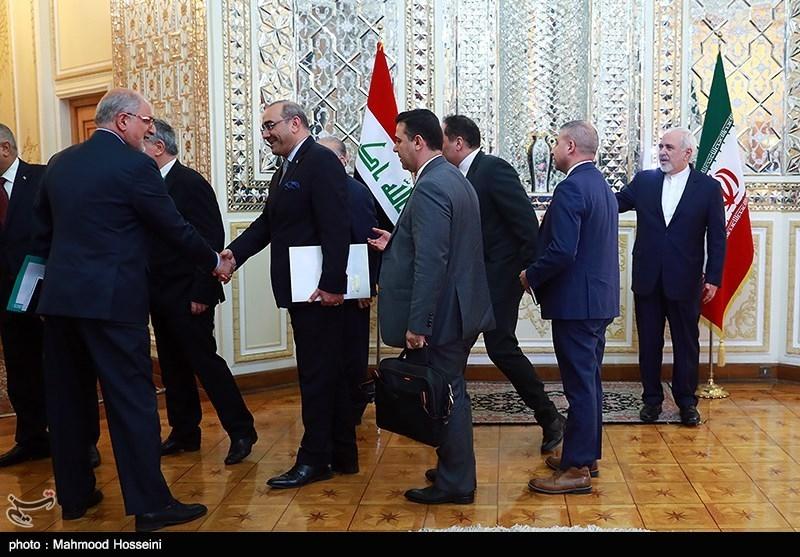 دیدار وزرای امور خارجه ایران و عراق