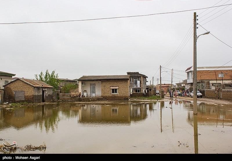 سیلاب دوباره در راه آققلا؛ سیلبندها مستحکم و لایروبی کانالهای انحرافی انجام میشود