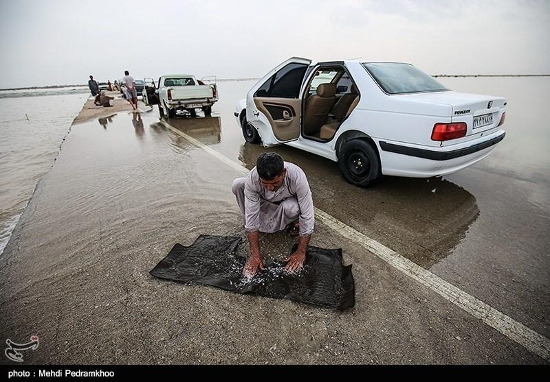 سیلاب 2 محور مواصلاتی سیستان و بلوچستان را مسدود کرد