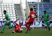 لیگ برتر فوتبال| شکست یک نیمهای سپیدرود مقابل فولاد خوزستان