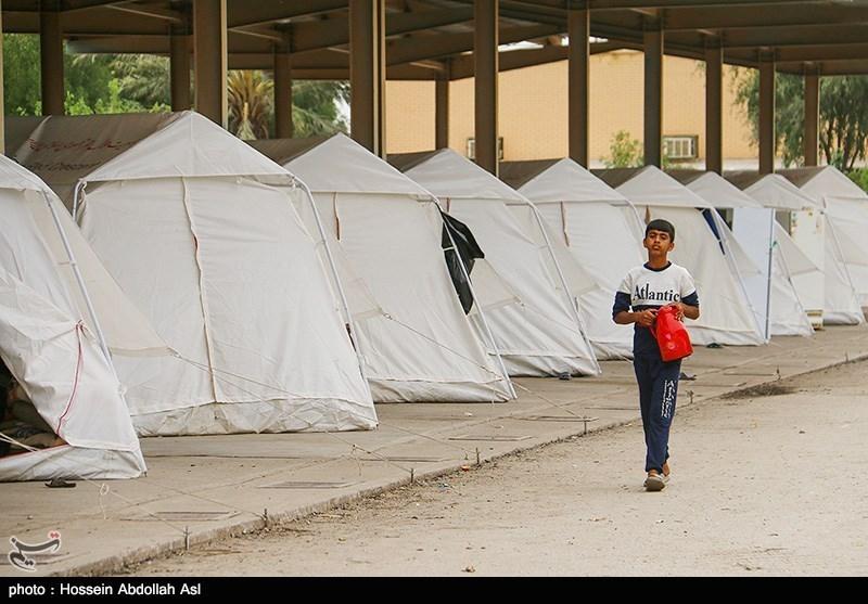 امدادرسانی هلال احمر کرمان به بیش از 11500 نفر از اهالی حمیدیه خوزستان