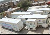 خدمترسانی بیمارستان صحرایی سپاه در شهر سیلزده پلدختر + تصاویر