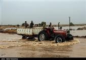 امدادرسانی گروههای تفحص شهدا به مردم سیلزده خوزستان+ فیلم