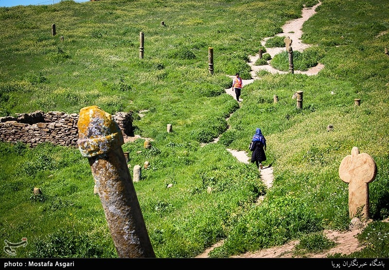 Khaled Nabi Cemetery in Iran's Golestan
