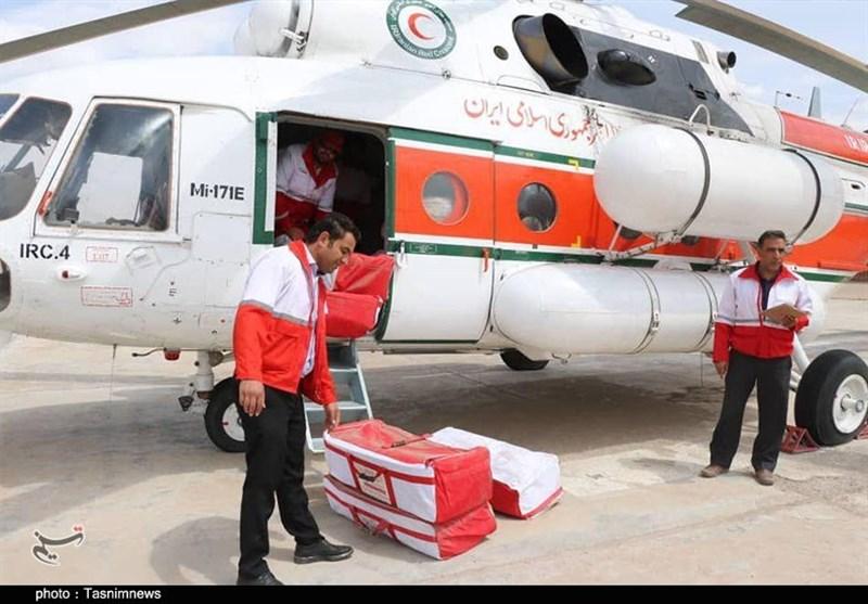 ارسال نخستین محموله زیستی و بهداشتی هلال احمر برای سیلزدگان