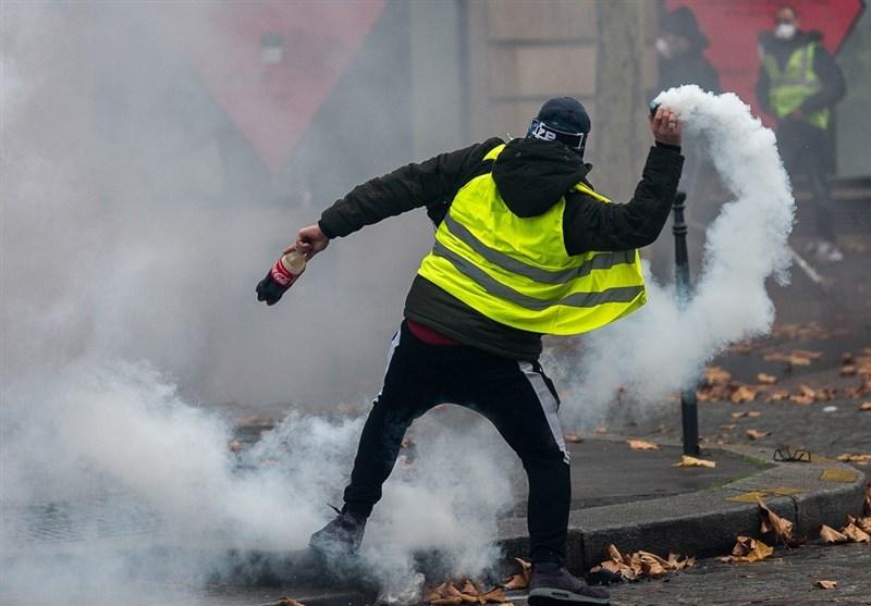 مواجهات بین الشرطة ومتظاهرین فی باریس