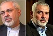 فی اتصال هاتفی مع هنیه ،ظریف یندد بالاتفاق الاماراتی- الصهیونی