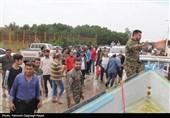 خوزستان| حضور گروه جهادی شهید کاوندی در منطقه سیلزده حمیدیه + فیلم