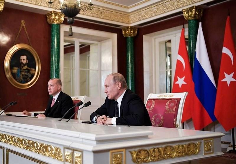 """پوتین: """"مذاکرات آستانه"""" با مشارکت ایران به کار خود ادامه میدهد"""