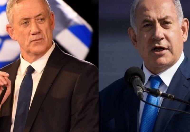 نتایج اولیه شمارش آرای انتخابات رژیم صهیونیستی؛ نتانیاهو و گانتس هر کدام اعلام پیروزی کردند