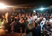 برگزاری جشن ولادت امام حسین (ع) در شهر سیل زده پلدختر + فیلم
