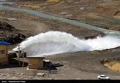 فاز اول طرح آبرسانی به ملایر از سد کلان در استان همدان به بهرهبرداری رسید