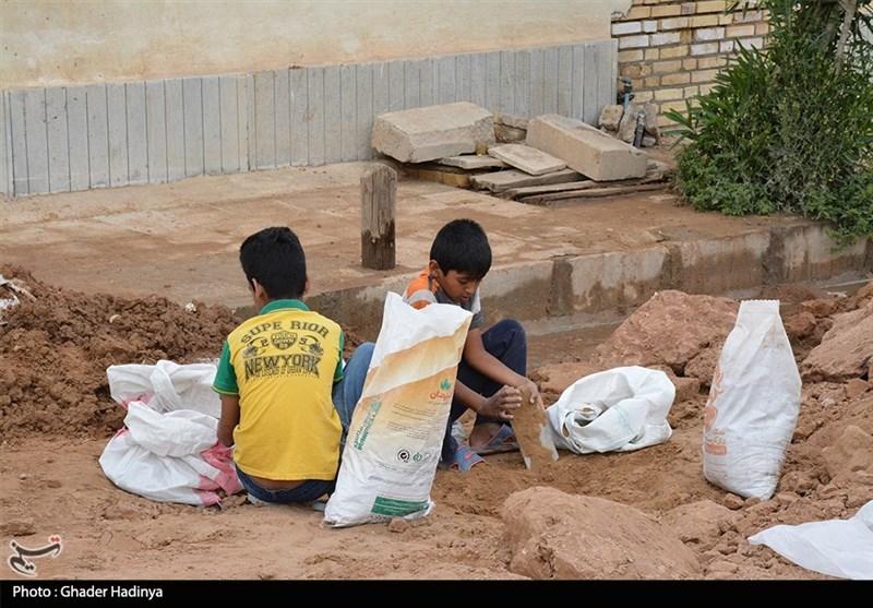 25 روز تلاش بیوقفه برای نجات حمیدیه + تصویر