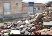 خراسان شمالی| حکایت افتتاحی بیحاصل؛ یک خانه بهداشت به گِـل نشسته+تصاویر