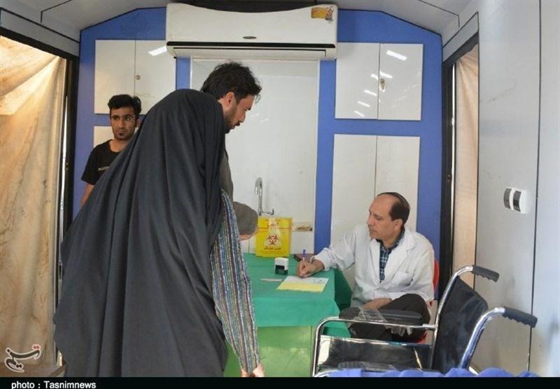 بیمارستان صحرایی سپاه در خدمت سیل زدگان پلدختر+ فیلم