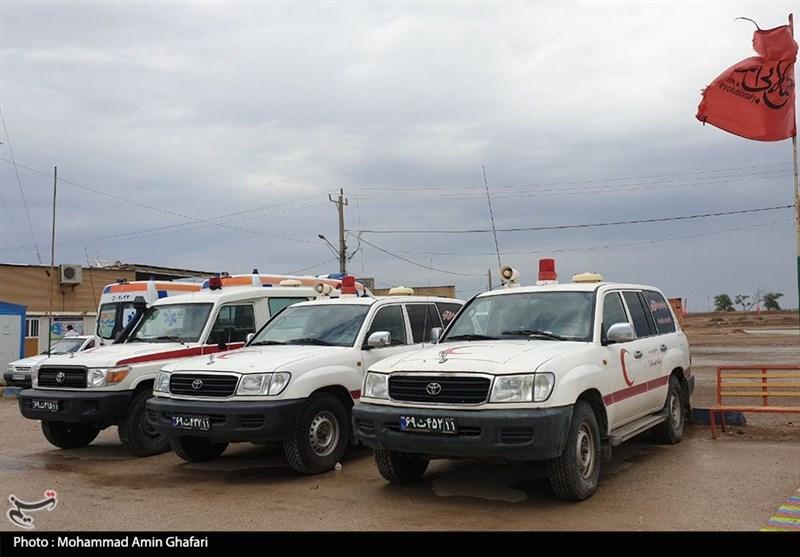نیاز مناطق سیلزده خوزستان به تجهیزات لجستیکی/تقدیر از استقرار موکبها