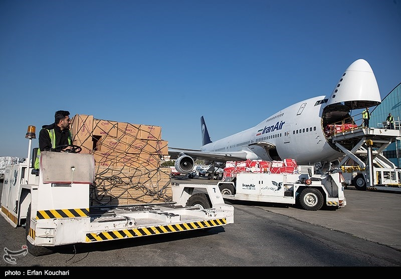 Iran Receives Cargo of Chinese Medical Supplies