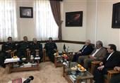 پیام توئیتری ظریف پس از دیدار با فرماندهان سپاه پاسداران