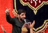 شعرخوانی مجید بنیفاطمه در حمایت از سپاه پاسداران