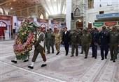 تجدید بیعت ورزشکاران ارتش با آرمانهای امام خمینی (ره)