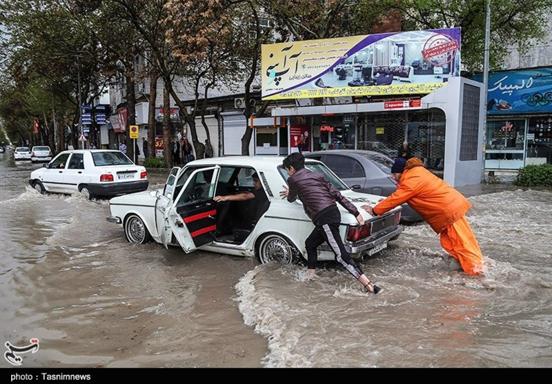 """امروز کدام استانها شاهد """"رگبار باران و رعدوبرق"""" هستند"""