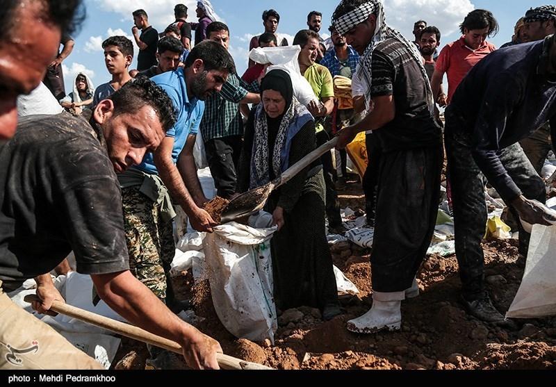 فرمانده سپاه کرمان: مردم حمیدیه با روحیه دوران دفاع مقدس از شهر خود دفاع میکنند