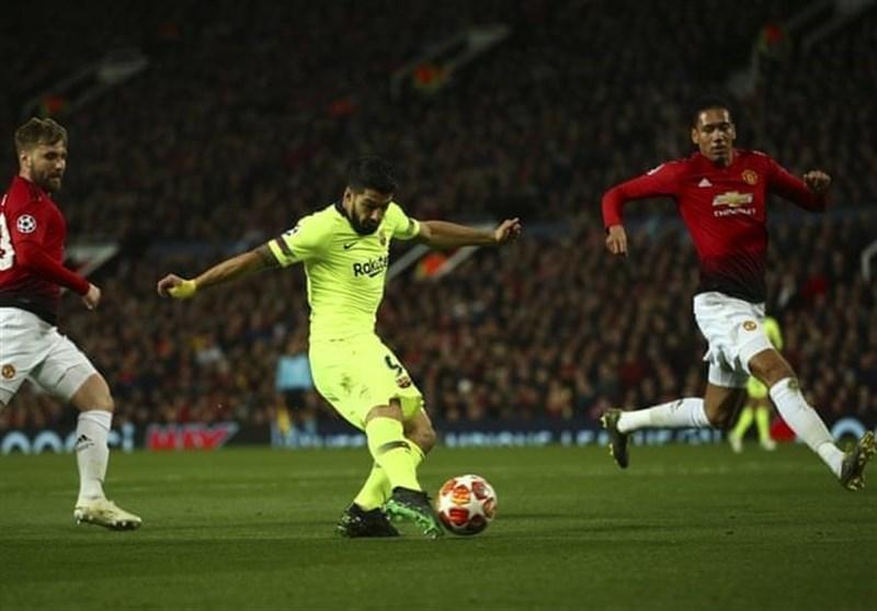 لیگ قهرمانان اروپا بارسلونا با پیروزی در اولدترافورد به صعود نزدیک شد/ یوونتوس با تساوی از زمین آژاکس به خانه بازگشت