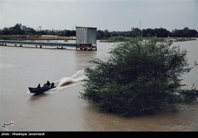 سیل در استان خوزستان