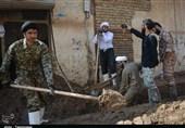 فیلم| اسکان و اعزام نیروهای مردمی در پلدختر