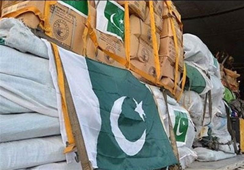 ارسال دومین محموله کمکهای پاکستان به اهواز