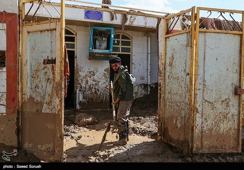 کرمانشاه| سیلاب 100 میلیارد تومان خسارت به زیرساختهای هرسین وارد کرد