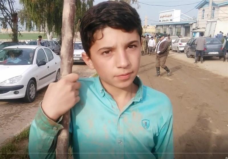 دانش آموز 15 ساله: از همدان آمدهام پلدختر جهاد کنم + فیلم