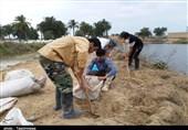 اعلام آمادگی گروههای جهادی برای مقابله با خسارات سیلاب در منطقه سیستان