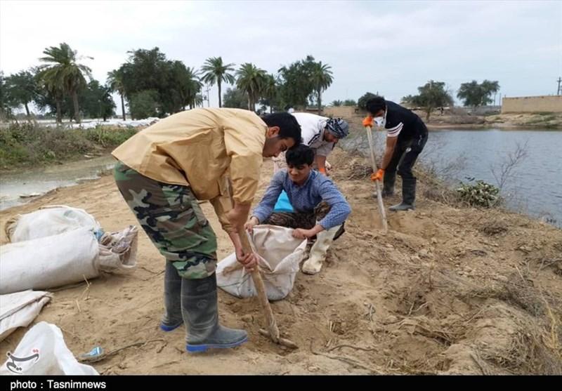 2000 گروه جهادی در مناطق سیلزده مازندران فعالیت دارند